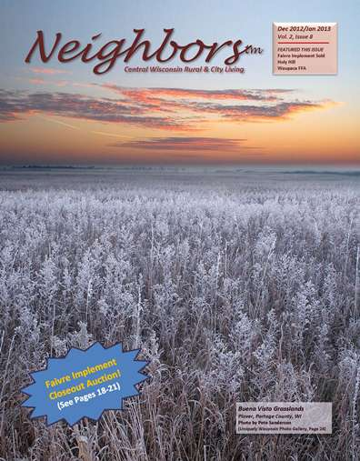 Neighbors Magazine, Cover Dec/Jan 2012