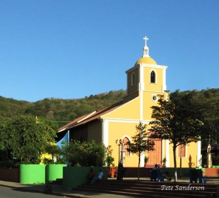 Iglesia San Juan Bautista Catholic Church in San Juan Del Sur, Nicaragua
