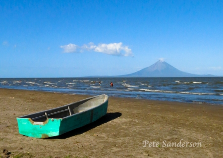 Volcán Concepción on the island of Ometepe in Lake Nicaragua