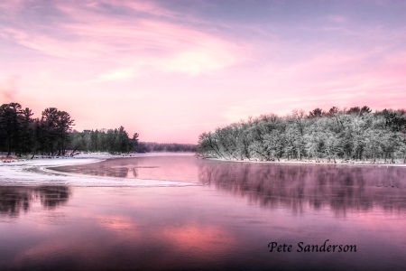 Wisconsin River, Whiting, Wisconsin
