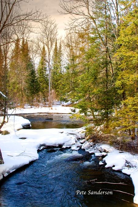 Plover River, Marathon County, Wisconsin