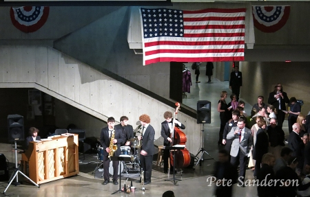 Soirée Musicale concluded with an after glow reception featuring the music of a talent jazz combo.