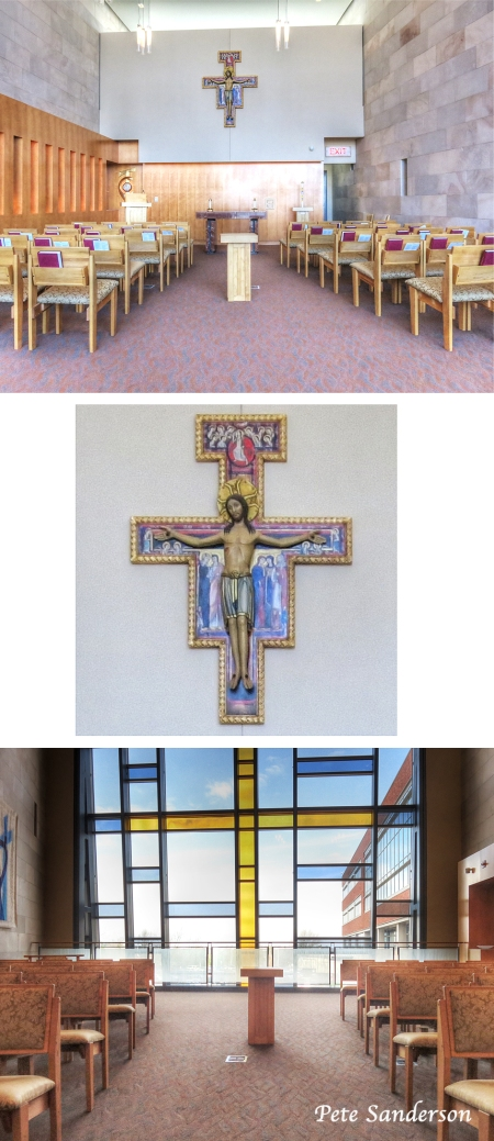 St. Clare's Hospital Chapel in Weston, Wisconsin